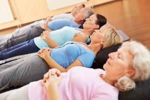 Meditation und Entspannung im Fitnesscenter